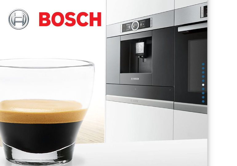 Built-in fully automatic coffee machine